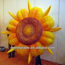 Artificial big Inflatable Flowers With LED Light
