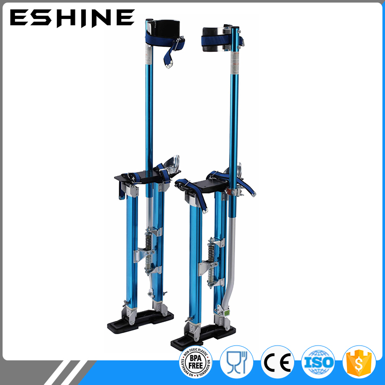 "Aluminum Tool Stilts 24"" to 40"" Adjustable Inch Drywall Stilt for Taping Painting Painter RED SILVER BLUE"