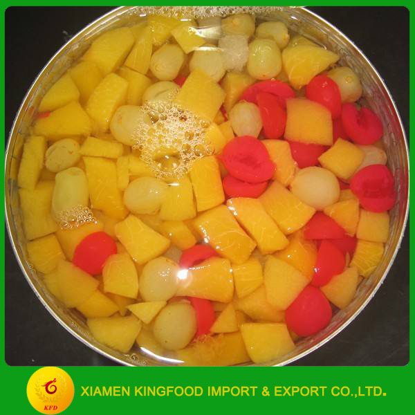 factory price canned tropical fruit/canned mixed fruits
