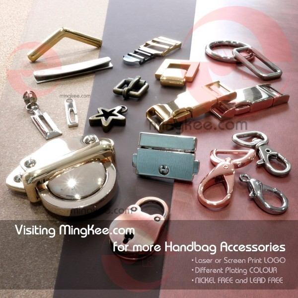 Good QC Chinese Zinc Alloy Metal Lock Magnet Clasps for Bags
