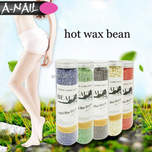 400 G /Bottle Depilatory Wax Heater Hard Wax Beans Pellet 9 Flavor Hair Removal No Strip Paraffin Wax For Bikini