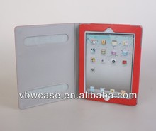for ipad velcro case, leather book cover case for ipad