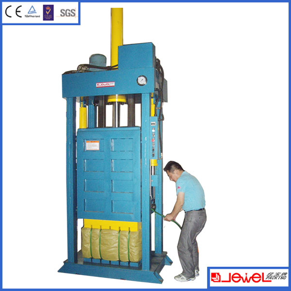 High-end compressed t shirt/Chinese herbal medicine bale machine