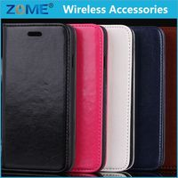 stylish matte wallet flip olja unique flower cloth leather case for iphone 6