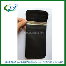 PU leather nylon canvas anti radiation cell phone shield