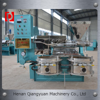 Full automatic hot-pressing 6YL-100 peanut screw oil mill