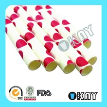 Wholesale FDA Paper Jumbo Crazy Drinking Straws
