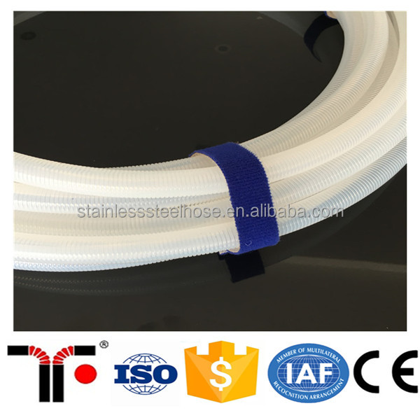 Customized transparent PTFE/TEFLON Material teflon hose tube
