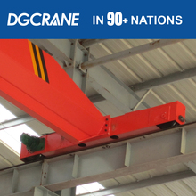 Steel structure workshop,12t rails travelling overhead crane