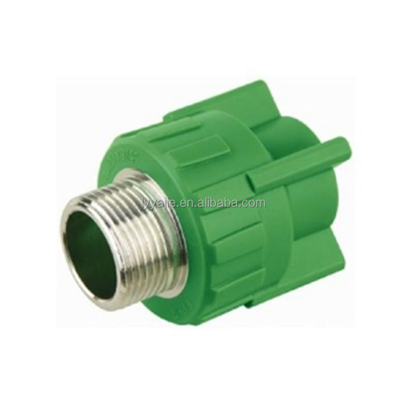 new type and popular ppr brass female/male thread adapter
