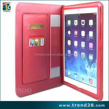 Alibaba china book style folio pu leather case for ipad air