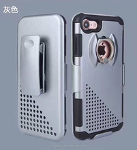 Mobile Phone Ring Armor Case For iPhone 7 7 Plus With Kickstand