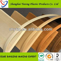 Pvc plastic ikea furniture edge banding strip china supplier