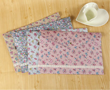 New vintage dots flower lace series A4 documents file bag /File folder / stationery Filing Production