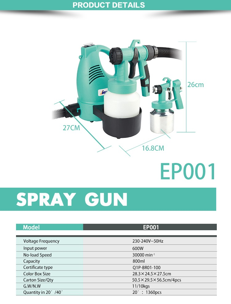 TOP 10 Low Cost HVLP Spray Paint Gun/Electric airless spray paint gun