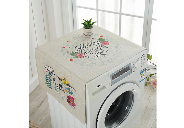top selling custom printed washing machine dust cover