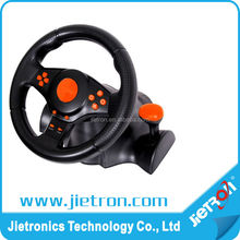 For PS3/PS2/PC USB Dual Shock Steering Wheel(3 in 1)