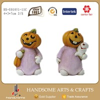 7cm Handmade Halloween Decoration Craft China Art Supplies Pumpkin Items