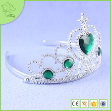2015 Wholesale Custom Tiara Crown Cheap Tall Pageant Crown Tiara