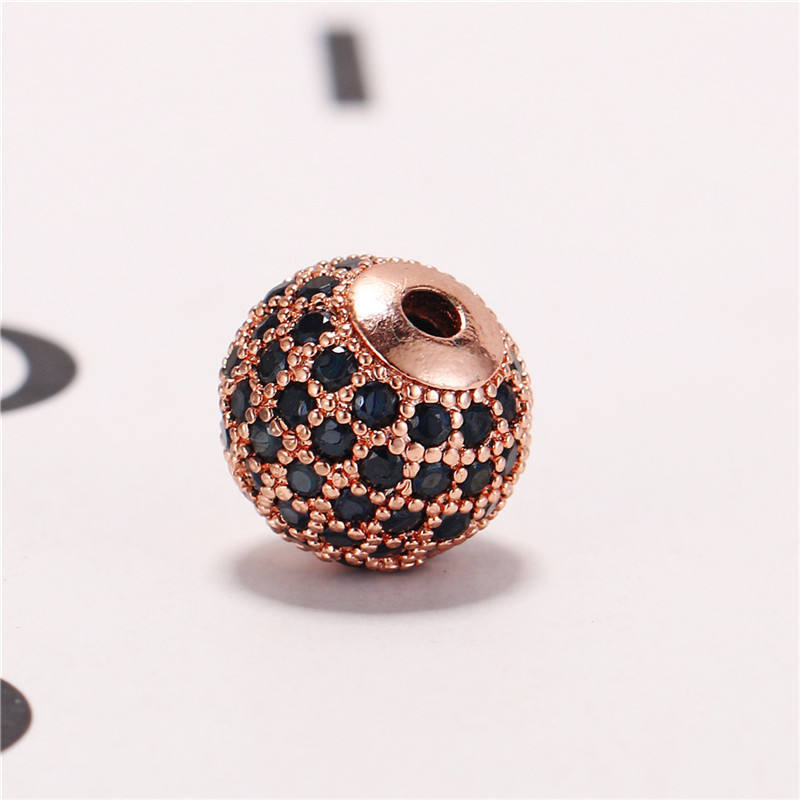 wholesale women's accessories cz mirco pave ball,pave diamond spacer beads jewelry for jewelries