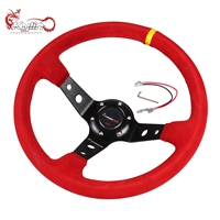 Ryanstar Racing Universal Soft Durable PU Leather DIY Car steering wheel cover for car