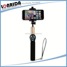 New Design Wholesale For Phone Accessories Built-In Wireless Bluetooth Selfie Stick