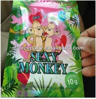 Sexy Monkey Herbal Incense Bags sexy monkey pills bag 10g