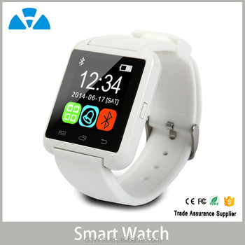 Bluetooth Smart Wrist U8 Watch For iOS and Android
