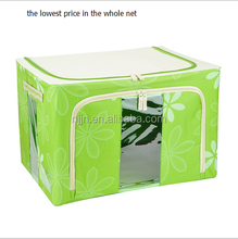 the lowest price in the whole net custom logo print various patterns available oem oxford fabric foldable storage box