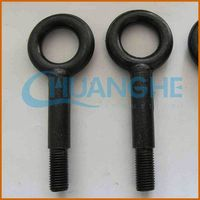 made in china electrical galvanized long shank eye bolts