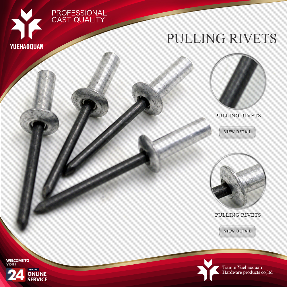 Hot selling aluminum boat rivets from China