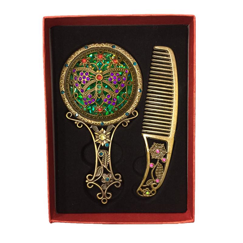 Handle Cosmetic Decorative Comb Mirror Set.jpg