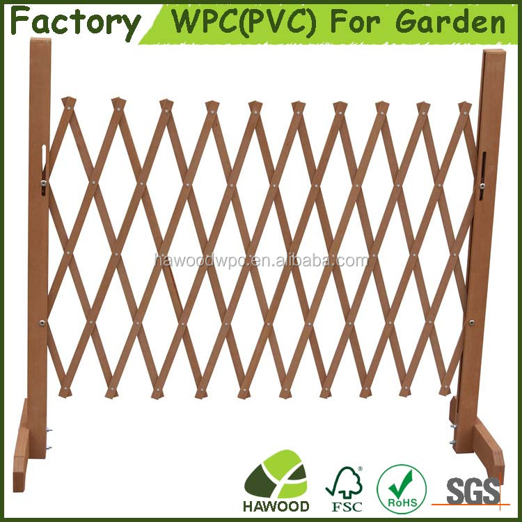 Cheap Decorative Garden Retractable Fence