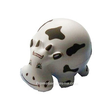 Cheap PU Cow Stress Ball, Cow PU Toy for lonely adult