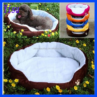 Pet Puppy Cat Soft Fleece Cozy Warm Nest House Cotton Mat Dog Bed
