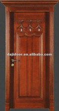 Solid Wood Luxury Kitchen Entry Doors Design DJ-S296