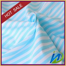 100% Cotton Hotel Striped Satin Fabric for Bed Sheets