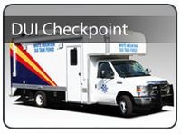 DUI Checkpoint Box Truck