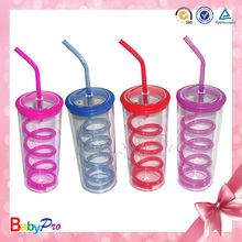 Babypro CU011 Durable Wholesale BPA Free Plastic Baby Sippy Cup With Many Colors