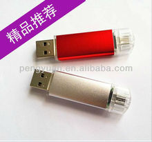Hot sale made in china promotion gift plastic smart mobile phone micro USB pendrive with logo