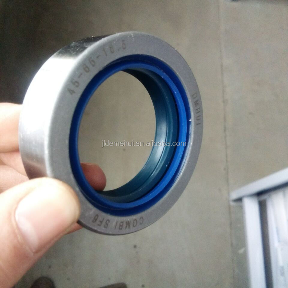 45*65*18.5 mm 90450047 COMBI type seals with NBR or Viton material
