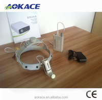LED portable surgical headlight operating light for ENT\dental