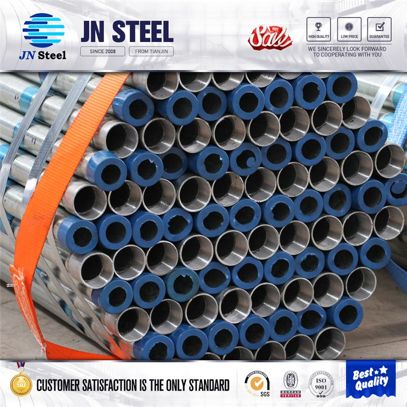 building materials hot dip galvanized round steel pipe / used scaffold tube