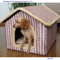 Quality primacy hot sell batten strip separate room large animal house for dog