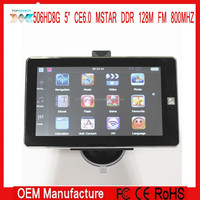5 INCH 800X480 MTK MSTAR CE 6.0 HD GPS NAVIGATOR 800MHZ FM DDR128M WITHOUT AVIN BT FREE EUROPE AUSTRALIA MAP