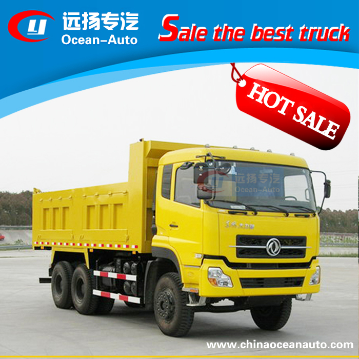 DongFeng new style 6*4 dump truck/tipper truck with low price for sale