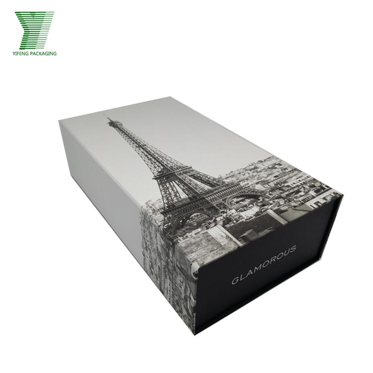 matte black custom shoe box with logo flat pack shoe box shoe box