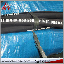 High quality high pressure high pressure wire reinforced supercharger rubber hose