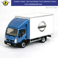 custom made promotional nissan scale metal die cast truck model 1:43