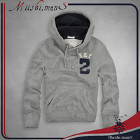 embroidery heavy thick fleece pullover hoodies wholesale
